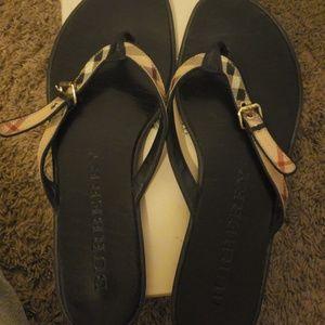 Authentic designer sandals